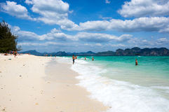 Die Küste von Andaman-Meer Stockfotos