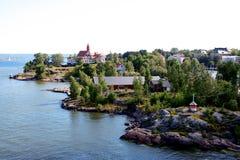 Die Küste von Helsinki Lizenzfreies Stockfoto