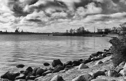 Die Küste von Kopenhagen Stockfoto