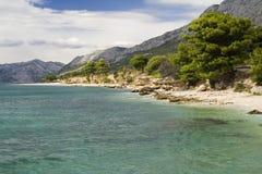 Die Küste von Kroatien stockfotografie