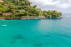 Die Küste von Ligurien Stockfotografie