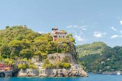 Die Küste von Ligurien Stockfotos