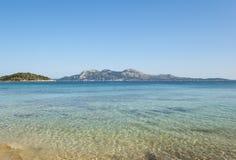 Die Küste von Mallorca Lizenzfreies Stockfoto