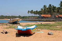 Die Küste von Sri Lanka Stockbild