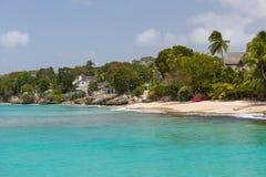 Die Küstenlinie von Barbados Lizenzfreies Stockbild