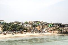 Die Küstenlinie von Jamestown, Accra, Ghana Stockfoto