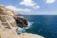 Die Küstenlinie von Valletta Stockfotografie