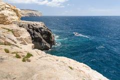 Die Küstenlinie von Valletta Lizenzfreie Stockfotos