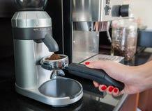 Die Kaffeemühle Stockbild