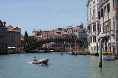 Die Kanäle von Venedig Stockfoto
