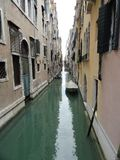 Die Kanäle von Venedig Lizenzfreie Stockfotografie