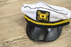 Die Kappe des Seemanns Stockfotografie