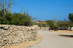 die Karibischen Meere Die Insel von Aruba Nationalpark Arikok Lizenzfreie Stockfotografie