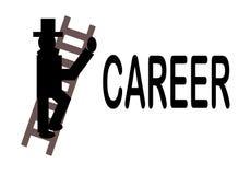 Die Karriere-Strichleiter Lizenzfreies Stockfoto