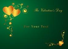 Die Karte des Valentinsgrußes vektor abbildung