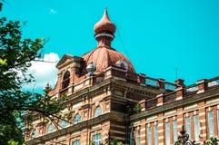 Die Kasan-Bundesuniversität in der Stadt von Yelabuga Lizenzfreie Stockfotos