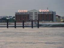Die Kasinokönigin St. Louis IL USA stockfotografie