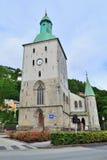 Die Kathedrale in Bergen Lizenzfreie Stockfotos