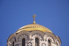 Die Kathedrale in Chersonesos Lizenzfreie Stockfotografie