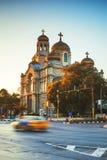 Die Kathedrale der Annahme in Varna Stockbilder