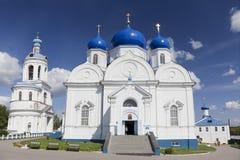 Die Kathedrale der Bogoliubov-Ikone der Mutter des Gottes. Goldener Ring. Russland lizenzfreies stockfoto