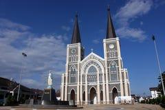 Die Kathedrale der Immculate-Konzeption Chanthab Lizenzfreies Stockbild