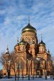 Die Kathedrale der Kazan-Ikone der Mutter des Gottes Lizenzfreie Stockfotografie