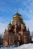 Die Kathedrale der Kazan-Ikone der Mutter des Gottes Stockfotos