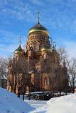 Die Kathedrale der Kazan-Ikone der Mutter des Gottes Stockbilder
