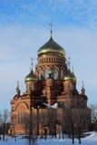 Die Kathedrale der Kazan-Ikone der Mutter des Gottes Stockfotografie