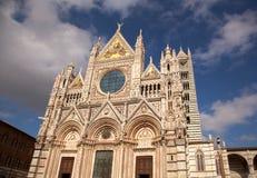 Die Kathedrale der Siena Lizenzfreies Stockbild