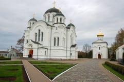 Die Kathedrale in der Stadt von Novopolotsk Weißrussland Stockbild