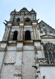 Die Kathedrale des Saint Louis von Blois, Frankreich Stockbilder
