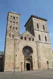 Die Kathedrale in Osnabrück stockfoto