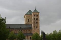Die Kathedrale in Osnabrück stockbild