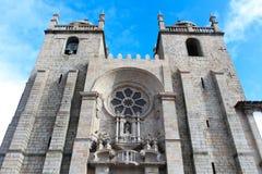Die Kathedrale in Portugal Lizenzfreie Stockbilder