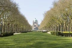 Die Kathedrale Sacre Coeur in Brüssel stockfotos