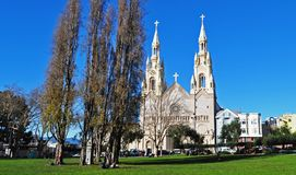 Die Kathedrale in SF stockfoto