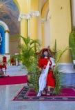 Die Kathedrale von Granada in Nicaragua Stockfotografie