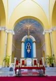 Die Kathedrale von Granada in Nicaragua Lizenzfreie Stockfotos