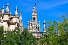 Die Kathedrale von Heiligem Mary sehen, Sevilla Lizenzfreie Stockfotografie