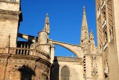 Die Kathedrale von Heiligem Mary sehen, Sevilla Stockfotos