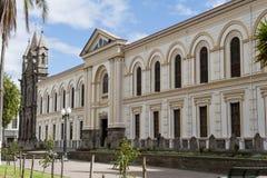 Die Kathedrale von Ibarra stockbilder