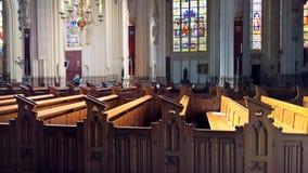 Die Kathedrale von Johannes nach innen Lizenzfreies Stockbild