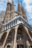 Die Kathedrale von La Sagrada Familia durch den Architekten Antonio Gau stockfotografie