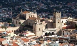 Die Kathedrale von monreale, nahe Palermo Stockfotografie