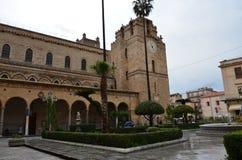 Die Kathedrale von Monreale, nahe Palermo, Italien Lizenzfreie Stockbilder