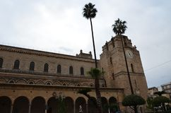 Die Kathedrale von Monreale, nahe Palermo, Italien Lizenzfreie Stockfotos
