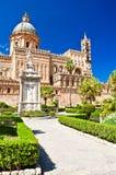 Die Kathedrale von Palermo Stockfotos