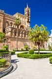 Die Kathedrale von Palermo Stockbild